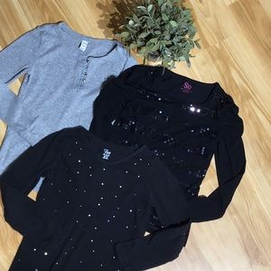 Other - Girl's Long Sleeve Shirts Size M